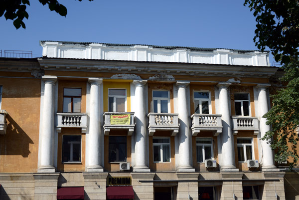 Classical Russian architecture in Almatys old city center