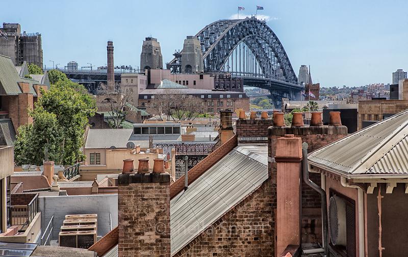 Sydney Harbour Bridge from The Rocks
