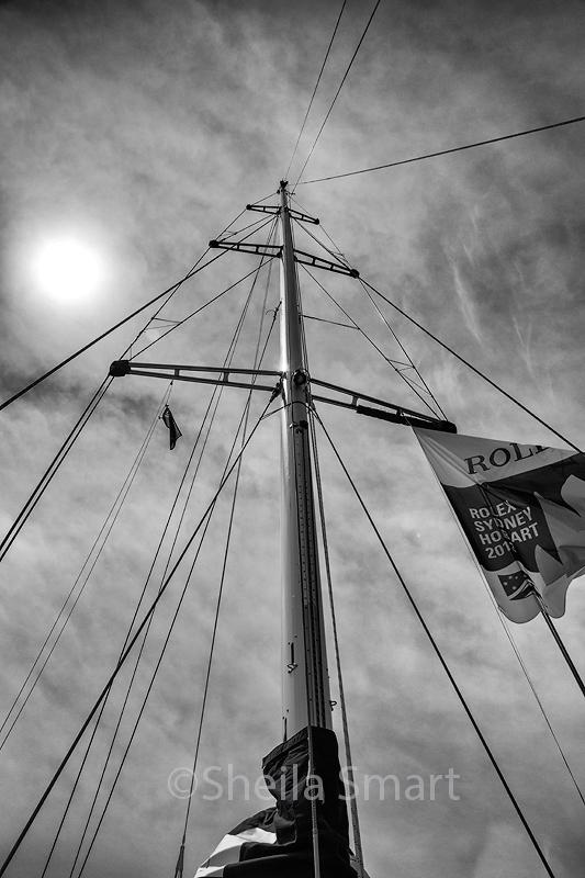 PSP Yacht mast monochrome