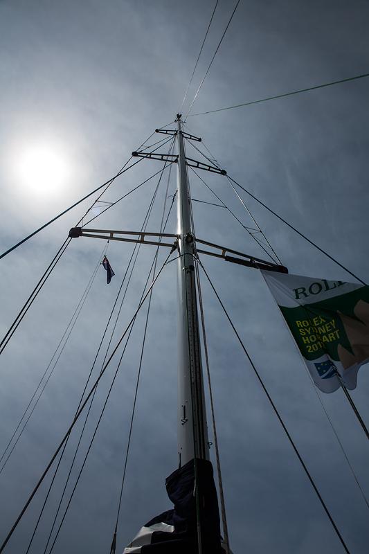 PSP Logistics Yacht mast