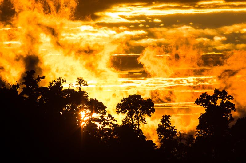 Sunset @ Mirador de Los Quetzales