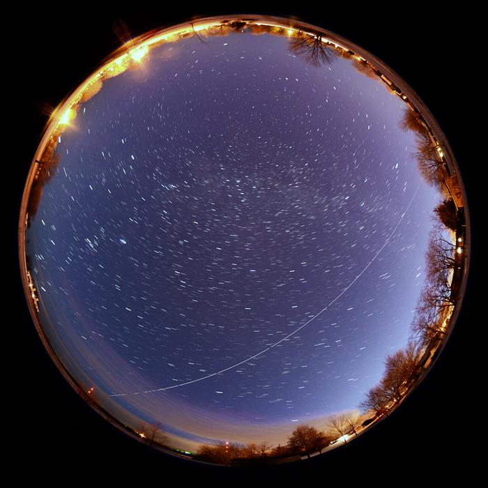ISS Passing over Missouri
