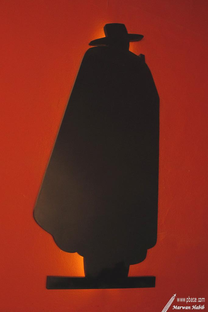 Red & Black Sign / Enseigne Rouge & Noir
