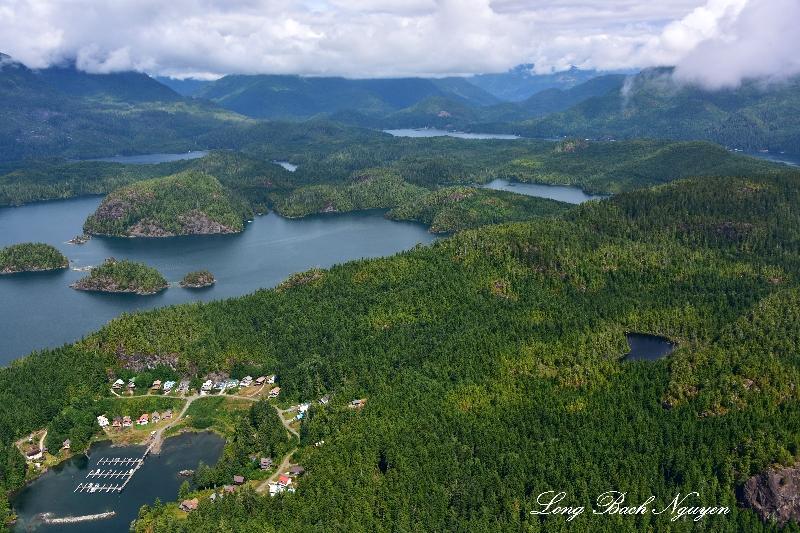 Haggard Cove Rainy Bay Boyson Islands Vancouver Island Canada