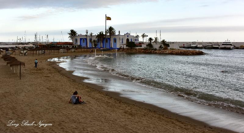 Beach in Marbella,  Spain