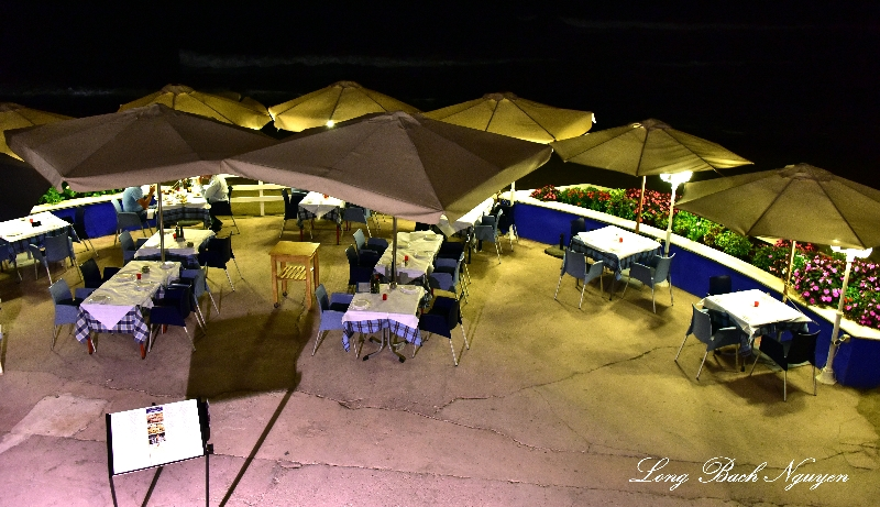 Beach Front Dining, Marbella, Spain