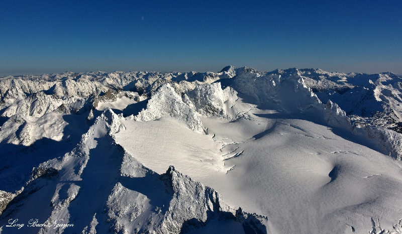 Dome Peak, Dome Glacier, Glacier Peak Wilderness of Washingtons, North Cascades 731
