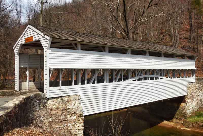 Knox Covered Bridge at Valley Forge National Park