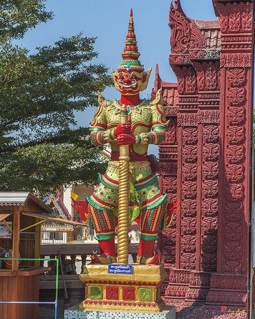 Wat Bang Phueng Temple Gate Guardian Giant (DTHSP0101)