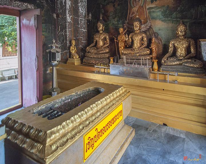 Wat Khao Phra Bat Pattaya Shrine Buddhas Footprint (DTHCB0060)