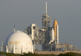 Endeavour arrives at Pad B 5627