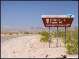 Route 66 Outside of Oatman AZ