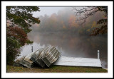 Fog at the Boat House/Price Lake