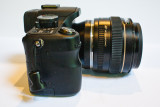 G1 w/EOS->m4/3rds adaptor and EF 50 f/1.4