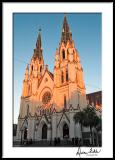 St. John the Baptist Cathedral, Fall, early evening light