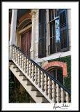Stairs and Shutters