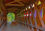 Cilleyville Bog Bridge Inside