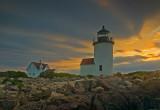 Goat Island Light Sunrise    -   MG_1366