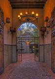 Tlaquepaque Hallway     HDR  #1829-35