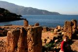 Roman legacy,Tipaza,Algerie.