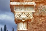 Moorish arch pillar.el mansourah tlemcen.