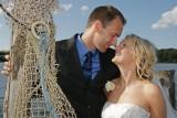Louise og Henriks Bryllup 22.08.09 i Løjt Kirkeby