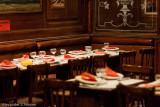 Miniature of a famous Parisian restaurant