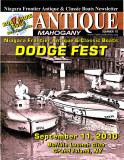 SUMMER 2010 Newsletter - Niagara Frontier Antique & Classic Boats