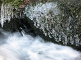 Frozen droplets