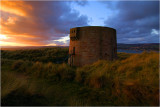 Another sunset at the Martello Tower (Magilligan Point)