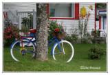 Une autre façon de recycler un vélo...