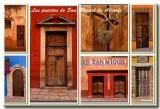 Las puertas de San Miguel de Allende, Mexico