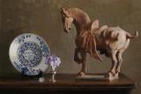 36. Terra Cotta Horse 21 1/2 x 32