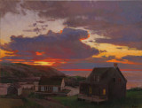 16. Sundown, Monhegan 9 1/2 x 12 1/2