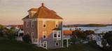 House on the Hill, Stonington 10 x 22