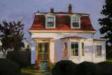 Red Mansard, Stonington 9 x 13