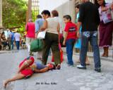 Indiferencia  y  Deshumanizacion total  en esta ciudad; BARRANQUILLA COLOMBIA