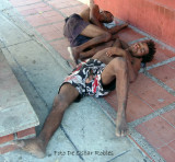 Victims of drogadiccion and governmental and citizen abandonment