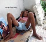 Ni las mujeres se escapan de la indigencia en Barranquilla.the women are not free of the misery in Colombia