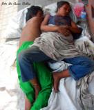 Parejas de indigentes por todo Barranquilla