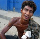 La cara joven de la miseria y drogadiccion Colombiana