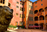 HDR - courtyard with Lion