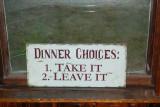 Dinner Choices