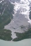 toe of Barrier Glacier