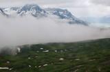 fog in the valley bottom