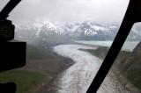 Barrier Glacier and Chakachamna Lake