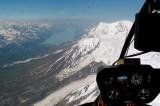 Chakachamna Lake from 9,600 ft