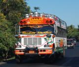 Nicaraguan bus