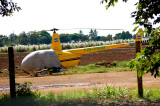 R-44 Raven Spray Helicopter at Chinandega