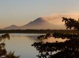San Cristobal Volcano from Puesta del Sol